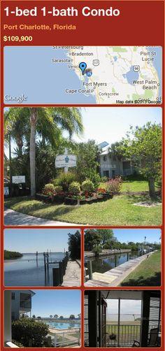 1-bed 1-bath Condo in Port Charlotte, Florida ►$109,900 #PropertyForSale #RealEstate #Florida http://florida-magic.com/properties/9342-condo-for-sale-in-port-charlotte-florida-with-1-bedroom-1-bathroom