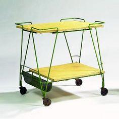 Tajan-Tea cart - Mathieu Mategot (1910-2001)