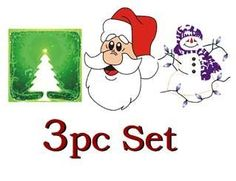 """TnT-Sales - 3pc Set Christmas Lanterns, Tree, Frosty, Santa by MH Manufacturing / TnT Sales.us. $12.00. Fire resistant paper. 3pc Mix Pack. Packed 1pc per bag. 15"""" (base) ~ 24"""" (top) x 30"""" High. 3pc - 1pc each Santa, Frosty, Christmas Tree. 3pc Set - Individually sealed - NEW - 1pc each Santa, Frosty & Tree SKY LANTERN /// Shipped from The Original IMPORTER and Supplier in Michigan ======= This is the original hand made Chinese Sky Lantern.  This is Not a chea..."""