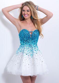 Blush Prom 9880 Sparkly Cocktail Dress