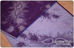 Natibaby LUMINE VIOLA Wrap (silk, linen) - About Wrap | Reviews, FSOT