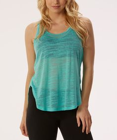 Love this Waterfall Burnout Racerback Tank on #zulily! #zulilyfinds