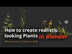 MSC #09 - How to create realistic looking plants (Blender Tutorial EN) - YouTube