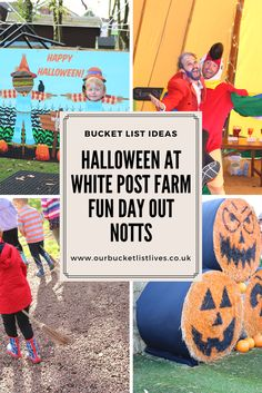 Halloween at White post farm. Fun family friendly day out in Nottinghamshire. We had such a fabulous day out that I couldn't wait to write all about it. #whitepostfarm #Nottinghamshire #dayout #halloween