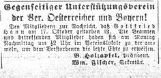 Obituaries from Chicago German-Language Newspapers for Gottfried Hann - Sassy Jane Genealogy
