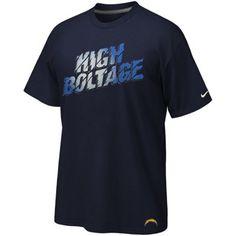 San Diego Chargers High Boltage Shirt Gear Shop 84a0f49f0