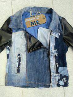 Denim jacket recykle