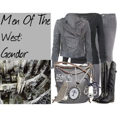 """Men Of The West: Gondor"" by ally-omalley on Polyvore"