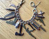 Zombie Apocalypse Charm Bracelet ZA405