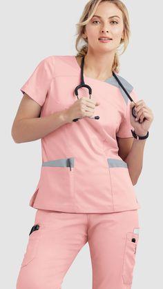 Cute Medical Scrubs, Cute Nursing Scrubs, Nursing Clothes, Cute Scrubs, Scrubs Outfit, Scrubs Uniform, Dental Uniforms, Stylish Scrubs, Womens Scrubs