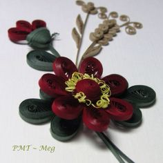 Beautiful quilled flower - by: PMT Meg