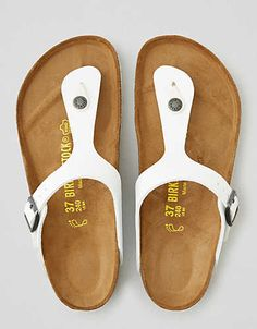 Birkenstock Gizeh Sandal , White | American Eagle Outfitters