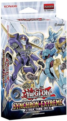 Yu-Gi-Oh! Trading Card Game Synchron Extreme Structure Deck Launched Worldwide - Anime News Network Yu Gi Oh, Pokemon 100, Pokemon Cards, Yugioh Decks, Anime News Network, Birthday Gifts For Boys, English, Deck Of Cards, E Bay