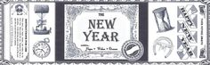 """DIY """"New Year in a Can"""" label with blank space to fill in year"""