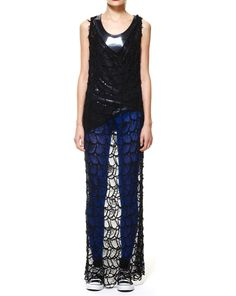 Zambesi  Ritual Dress in Web Lace