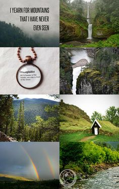 I yearn for mountains that I have never ever seen :) by Csilla Hegyes on Etsy--Pinned with TreasuryPin.com