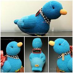sock bird