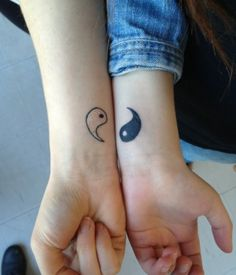 Matching Tattoos: Tattoo Ideas for Couples @GirlterestMag #couples #love…