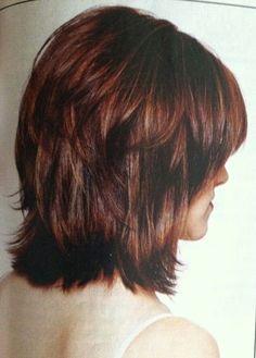 Super Haircut Styles Shoulder Length Layered Bobs Ideas – Hair – Hair is craft Medium Hair Cuts, Short Hair Cuts, Medium Hair Styles, Short Hair Styles, Pixie Cuts, Medium Shag Haircuts, Bob Haircuts, Medium Layered Hairstyles, Short Bobs