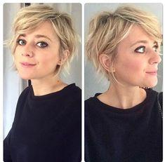 Cute Hairstyles For Short Hair, Headband Hairstyles, Pretty Hairstyles, Short Hair Cuts, Bob Hairstyles, Curly Hair Styles, Pixie Haircuts, Good Hair Day, Great Hair
