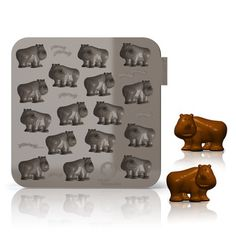 Moule à chocolat en silicone 16 empreintes MY ANIMALS
