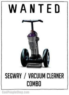 Twitter / CoolPeopleShop: Segway Vacuum Cleaner ...