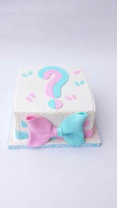 Gender revealing cake