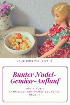 Kinderessen mit Gemüse, ein gesundes Rezept für Kinder, schnell, einfach und lecker. Leckeres Rezept on low budget, günstig Kochen und lecker Essen