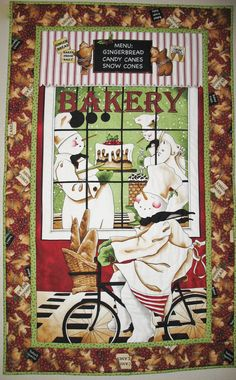 Snowman Wall Hanging or Table Topper Quilted by PicketFenceFabric, $46.95