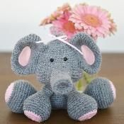 Ellie The Elephant Crochet Pattern - via @Craftsy