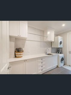 Property Report for 13 Framont Avenue, Holland Park QLD 4121 Laundry Nook, Laundry In Bathroom, Interior Design Living Room, Living Room Designs, Laundry Room Inspiration, Interior Inspiration, Laundry Design, Holland Park, Cubby Houses