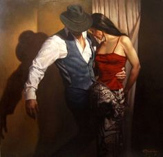 Flamenco Dancer | Hamish Blakely | British Figurative painter