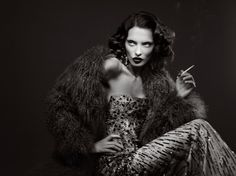 Decades | Signe Vilstrup #photography | Elle Magazine