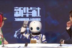 """Agência chinesa envia """"robô repórter"""" para coletiva de imprensa"""