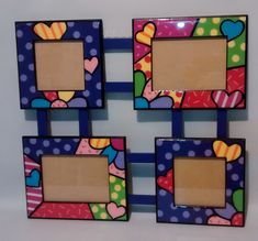 Diy Crafts For Gifts, Diy Arts And Crafts, Craft Stick Crafts, Fun Crafts, Crafts For Kids, Paper Crafts, Diy Photo Frame Cardboard, Photo Frame Crafts, Diy Frame