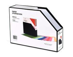American Crafts - 12 x 12 Paper Storage Box at Scrapbook.com $7.59