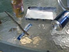 Aluminum Can Survival Uses - YouTube