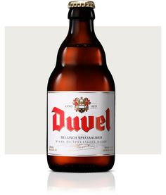 Duvel - A Duvel is still seen as the reference among more full-bodied ales. Its bouquet is lively and tickles the nose with an element of citrus which even tends towards grapefruit thanks to the use of only the highest-quality hop varieties. This is also reflected in the flavour, which is beautifully balanced with a hint of spiciness.