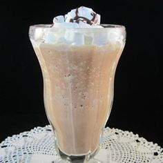 "Frozen Mudslide | ""Soooo good!! My husband and I rewarded ourselves for 2 weeks of diet and exercise with a treat...this was the best of alcohol and dessert in one!"""