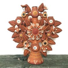 Ljusstake Tree of Life via RY.AR.YA. ryarya ryarya.se vintage antik Mexican Candleholder Click on the image to see more!