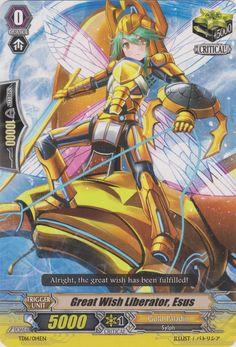 Great Wish Liberator, Esus - Cardfight!! Vanguard Wiki