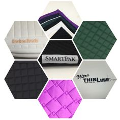 Do you ♥ to collect saddle pads? Find the perfect saddle pad that will have even your horse smiling. :) With free shipping both ways, you can shop risk-free for all of your favorite saddle pads from SmartPak, ThinLine, Back on Track and more! Which color is your favorite?