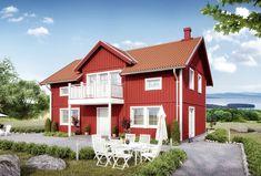 Stensö - ETT SMART HUS lämnar så lite avtryck som möjligt Swedish House, House Made, Cabin, House Styles, Sims 4, Home Decor, Decoration Home, Room Decor, Cabins