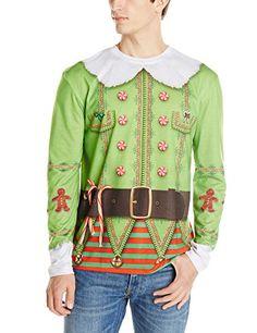 Faux Real Men's Christmas Elf, Green/Red, Small Faux Real http://www.amazon.com/dp/B00M1TJQ5I/ref=cm_sw_r_pi_dp_ne1Hub1C0MH42