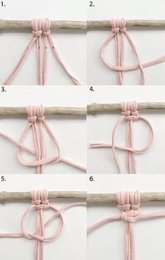 SQUARE KNOT TUTORIAL . Would you like to learn macrame knots and pattern for free? www.twome.co.uk