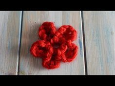 How to Finger Crochet a Flower, My Crafts and DIY Projects