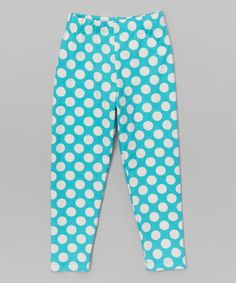 Another great find on #zulily! Country Punch Polka Dot Leggings - Infant, Toddler & Girls #zulilyfinds