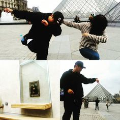 Instagram의 배정재님: #파리#paris#루브르박물관#피라미드#모나리자