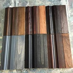 General Finishes WipeOn Gel Stain Color Chart By Jenna  Home