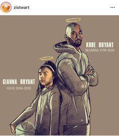 Kobe Bryant Daughters, Kobe Bryant 24, Black Mamba, Goat, Legends, Drawing Drawing, Goats